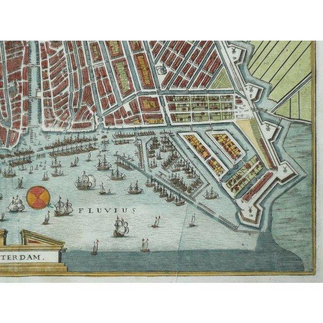 Verkocht - Collectie Gouldmaps - Amsterdam - M. Merian - Amsterdam. - 1641