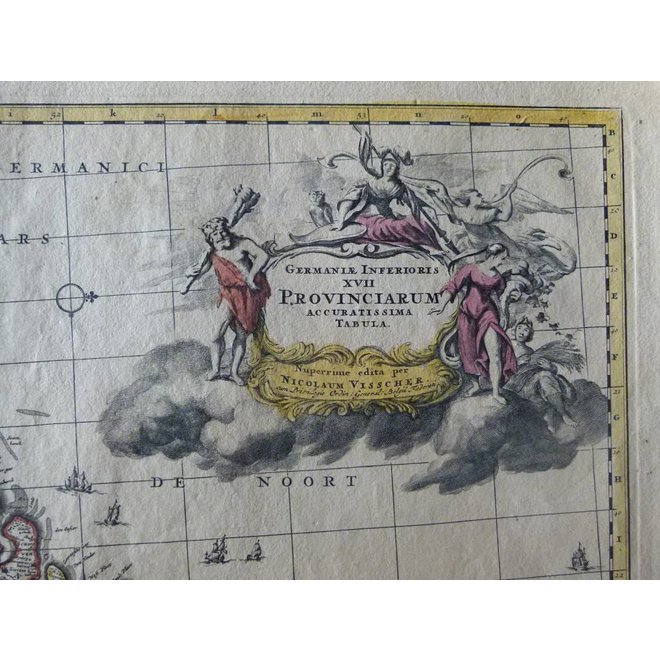XVII Provinciën; N. Visscher II - Germaniae Inferioris XVII Provinciarum (..) - 1686-1701