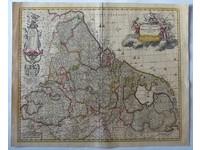 Gouldmaps XVII Provinciën; N. Visscher II - Germaniae Inferioris XVII Provinciarum (..) - 1686-1701