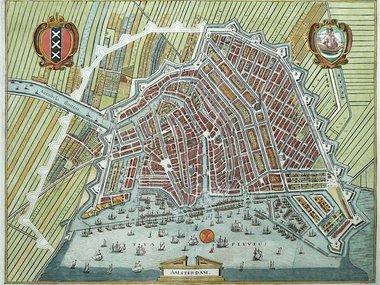 Gouldmaps Verkocht - Amsterdam - M. Merian - Amsterdam. - 1641