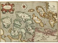 Gouldmaps G. Porro /  T. Porcacchi - Isole Selandie - 1576