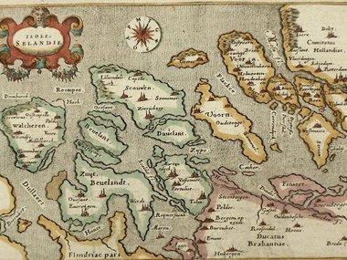 Gouldmaps Porro G. /  Porcacchi T. - Isole Selandie - 1576