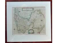 Gouldmaps Zuiderzee; H. Doncker -  Pas Caart van de Zuyder-Zee, Texel, ende Vlie-stroom, alsmede 't Amelander gat. - 1665