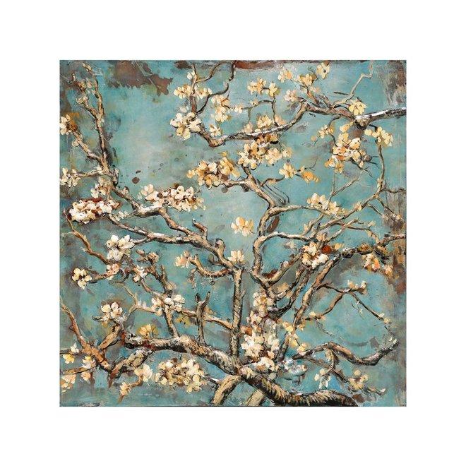 Metal Art Almond Blossom