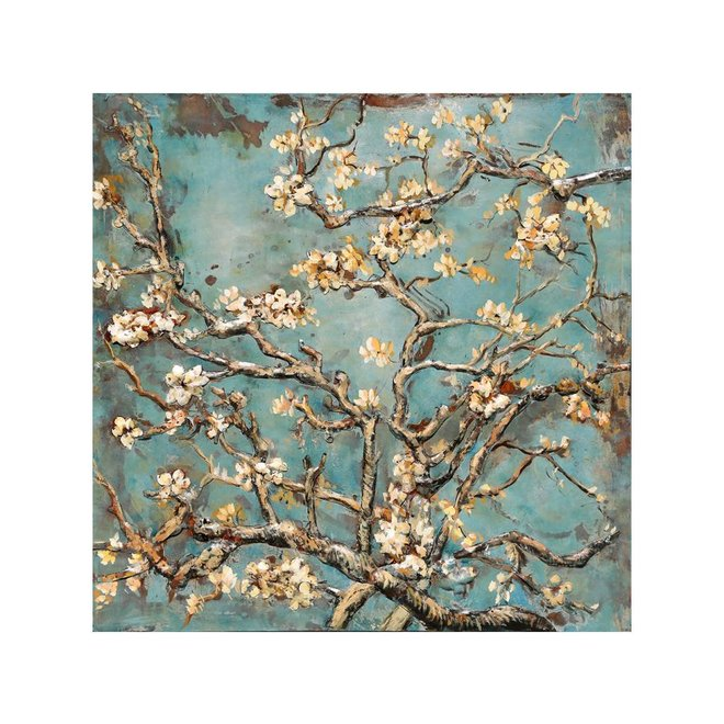 Metal Art Almond Blossom 100x100