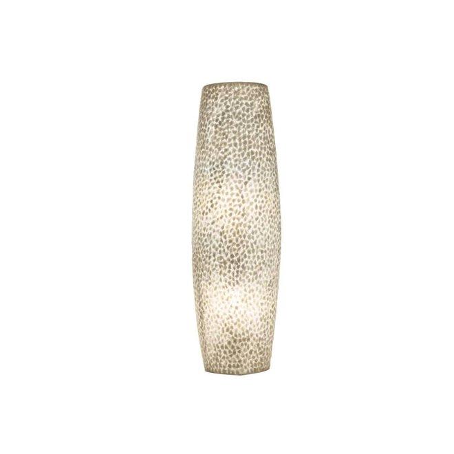 Schelpenlamp - Wangi White - Apollo wandlamp - S