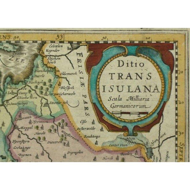 Collectie Gouldmaps - Overijssel, Drenthe; J. Cloppenburgh / P. Kaerius - Ditio Transisulana - 1630