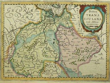 Gouldmaps Cloppenburgh J. / Kaerius P. - Ditio Transisulana - 1630