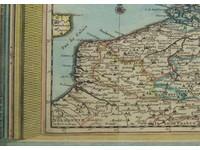 Gouldmaps XVII Provinciën; P. van der Aa - Les XVII Provinces des Pays Bas suivant les Nouvelles Observations = 1713