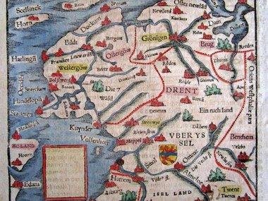 Gouldmaps Münster S. - Beschreibung des Occidentischen Frieszlands - 1580