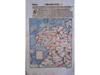Gouldmaps Noord Nederland; S. Münster - Beschreibung des Occidentischen Frieszlands - 1580