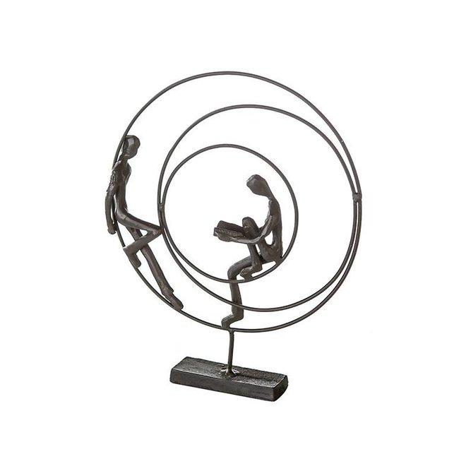 Metal-Sculpture 'Circles'