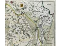 Gouldmaps Verkocht - Drenthe - W. J. Blaeu; Drentia Comitatus (..). - 1640