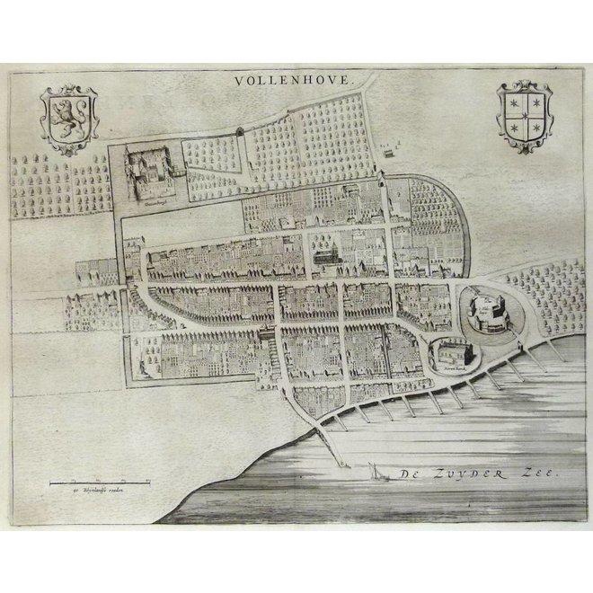 Collectie Gouldmaps - Vollenhove; J. Blaeu - Vollenhove. - 1649