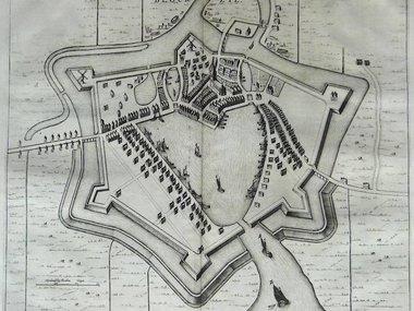 Gouldmaps Blokzijl; J. Blaeu - Blockzyl. - 1649