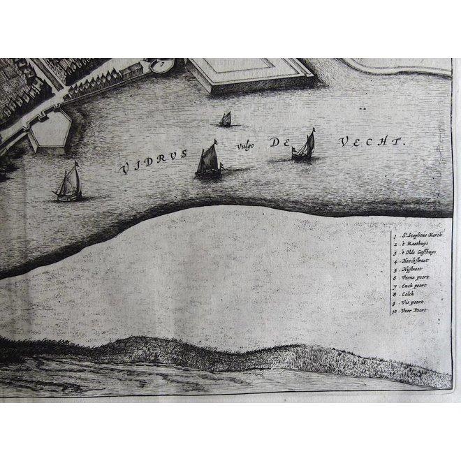 Collectie Gouldmaps - Hasselt; J. Blaeu - Hasselt. - 1649