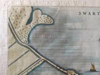 Gouldmaps Zwartsluis - J. Blaeu - Swartesluys. - 1649