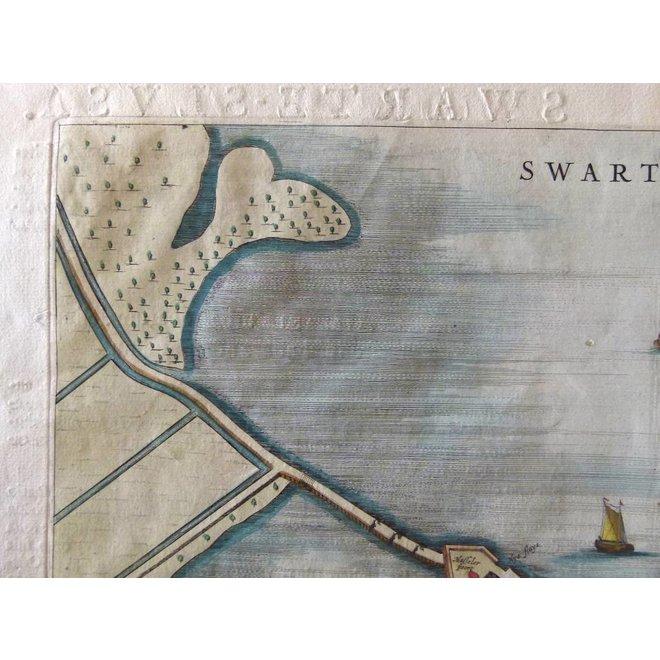 Zwartsluis - J. Blaeu - Swartesluys. - 1649