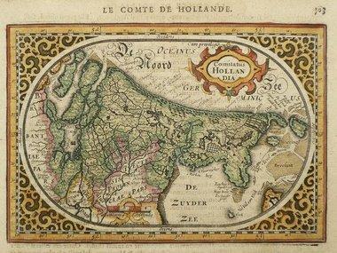 Gouldmaps Janssonius J. - Comitatus Hollandia - 1630