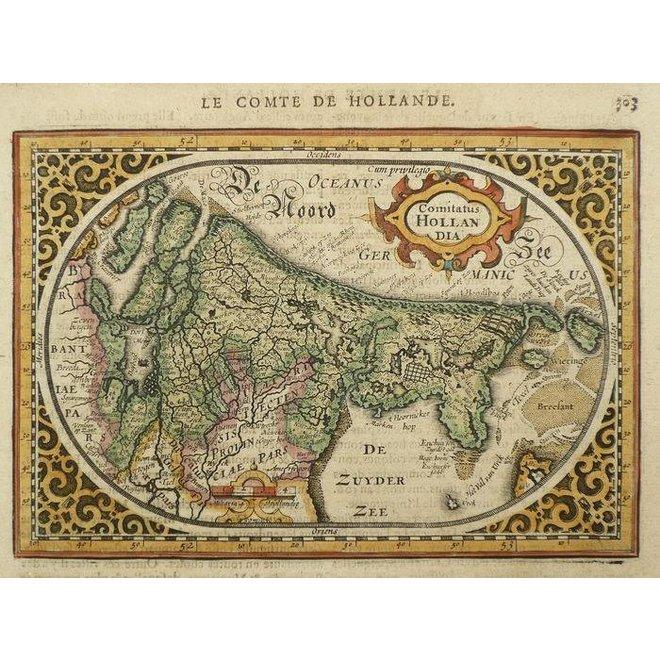 Collectie Gouldmaps - Holland; J. Janssonius - Comitatus Hollandia - 1630