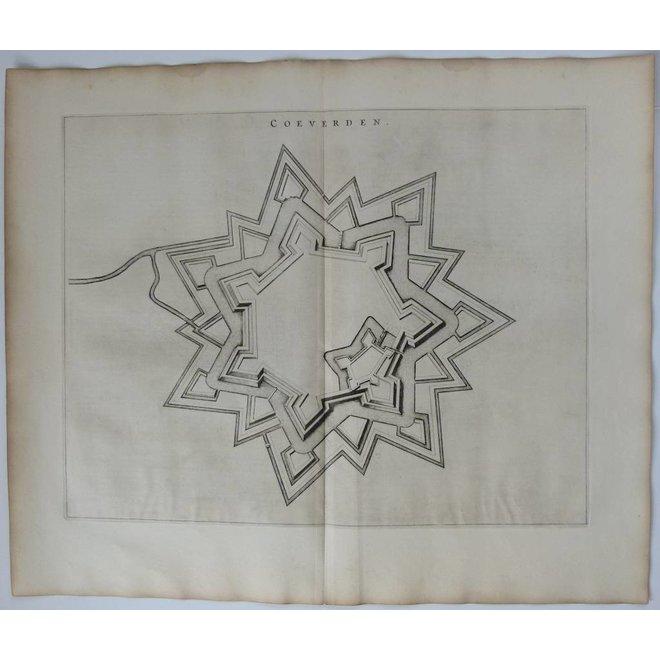 Collectie Gouldmaps - Coevorden; J. Blaeu - Coeverden. - 1649