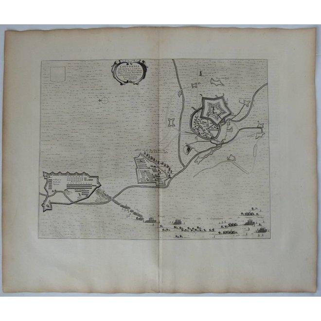 Collectie Gouldmaps - Coevorden - J. Blaeu - Coevordia Obsessa et Capta (..). - 1649