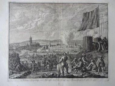 Gouldmaps Steenwijk; J. Luyken - 1730 - mislukte belegeringe van Steenwijk (..).