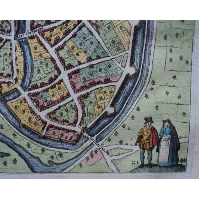 Collectie Gouldmaps - Zutphen; L. Guicciardini - Zutphen - 1613