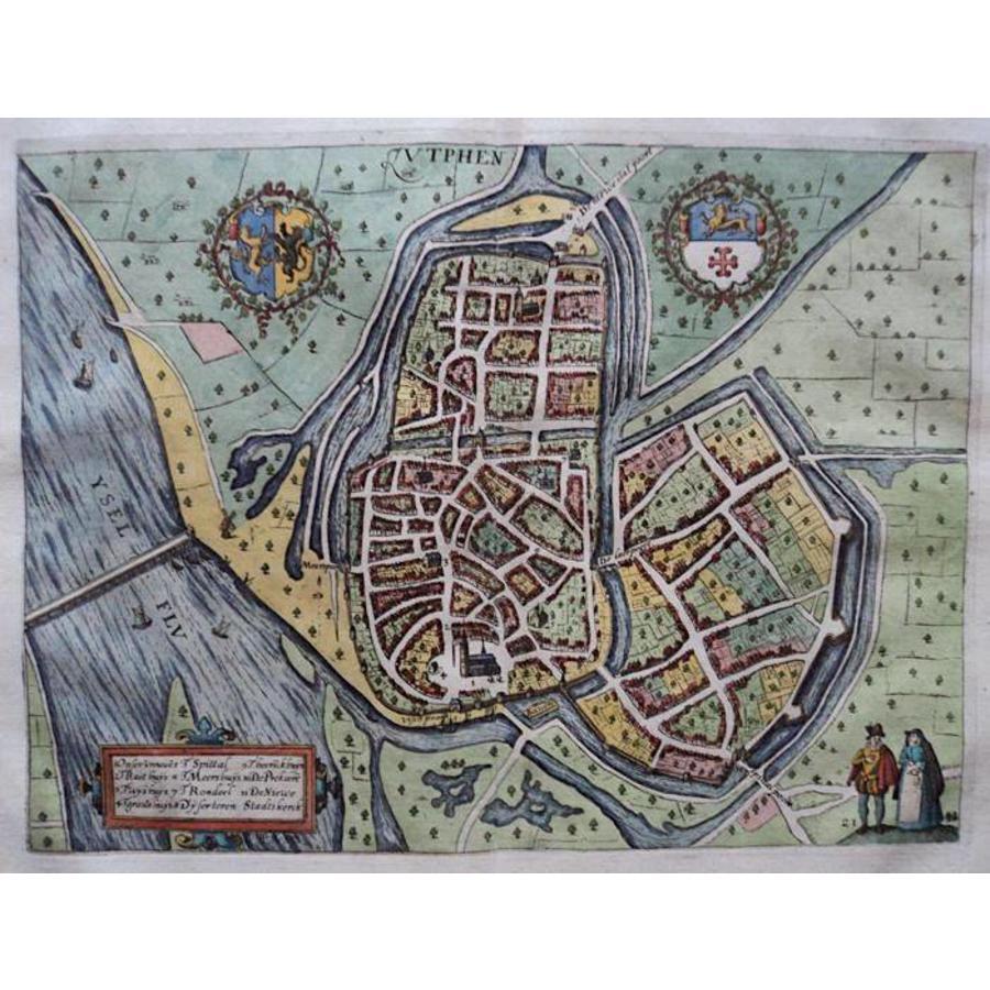Gouldmaps Zutphen - L. Guicciardini - Zutphen - 1613
