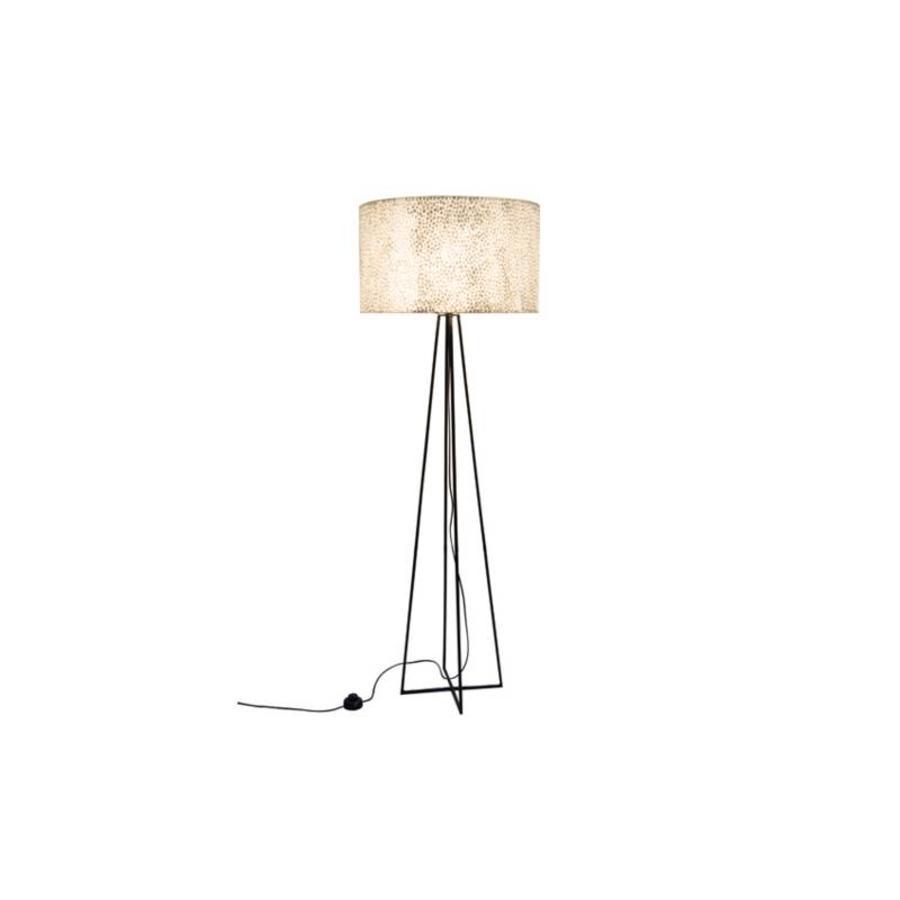 Wangi White - vloerlamp met kap - hoogte 158 cm