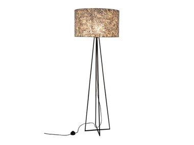 Wangi Gold - Vloerlamp met kap