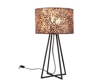 Villaflor Wangi Gold - Capri tafellamp met kap