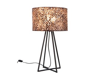 Wangi Gold - Tafellamp met kap