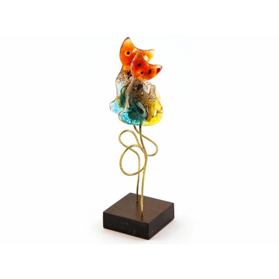 Eratini Glass Deco Cat