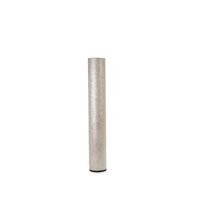 Villaflor schelpenlamp - Zigzag - vloerlamp - Cilinder - hoogte 150 cm