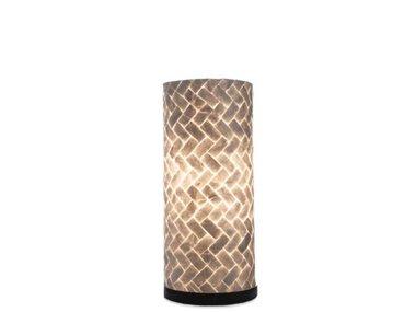 Villaflor Schelpenlamp - Zigzag - Cilinder - 30  cm