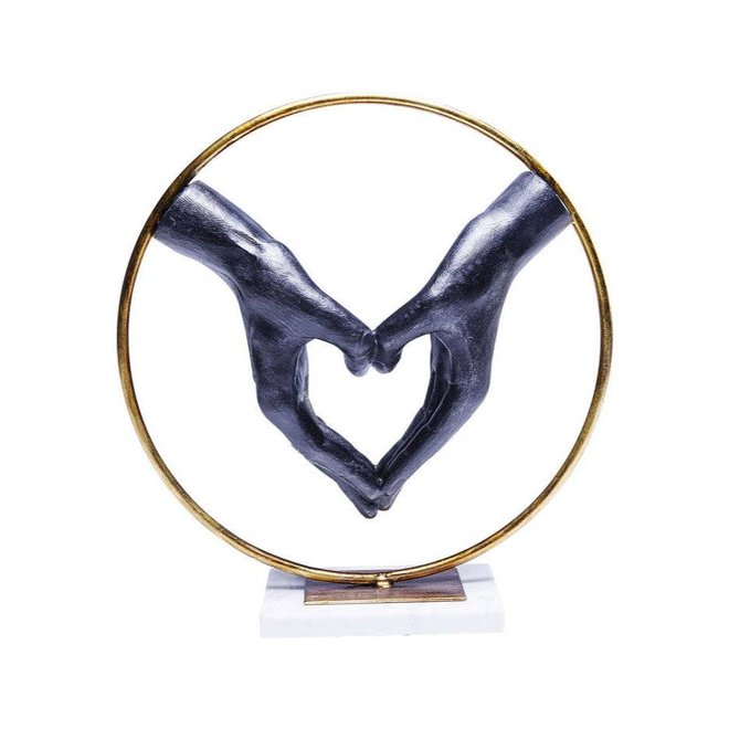 Deco Object Elements Heart Hand
