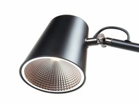 High Light Leeslamp Metallic Zwart