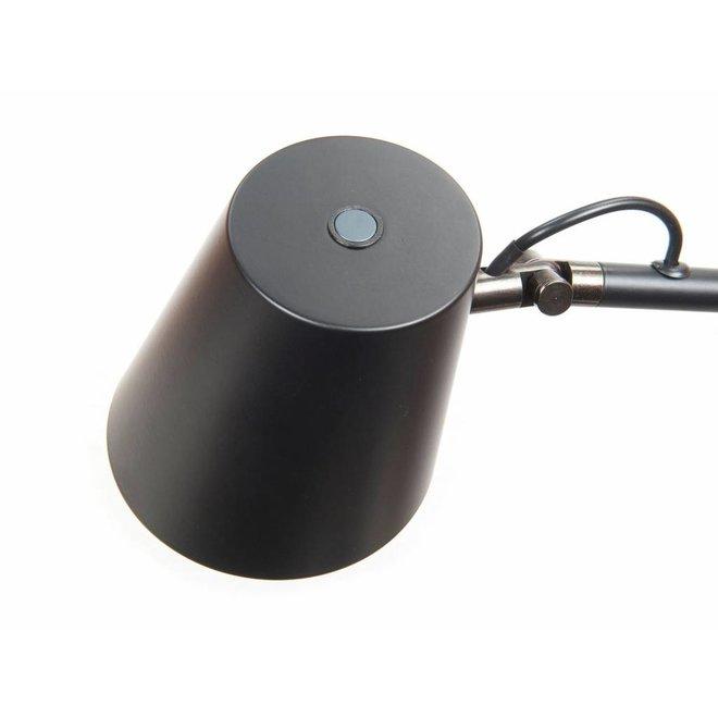 Leeslamp Metallic Zwart