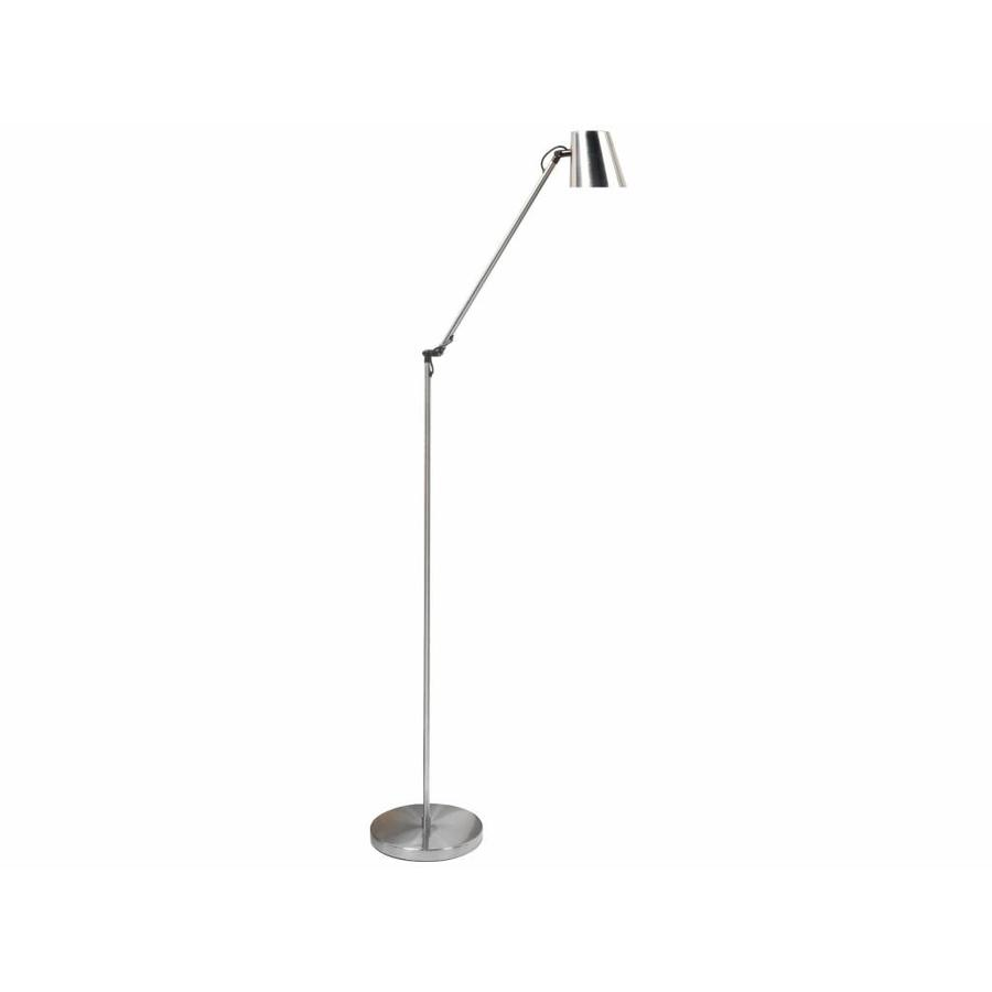 High Light Leeslamp Metallic Staal