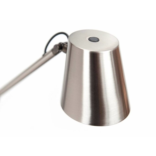 Leeslamp Metallic Staal
