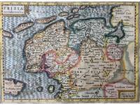 Gouldmaps J. Cloppenburgh / P. Kaerius - FRISIA Occidentalis - 1632