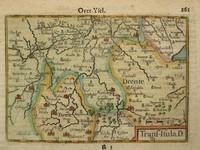 Gouldmaps Overijssel, Drenthe; C. Claeszn - Trans-Isula. D. - 1609