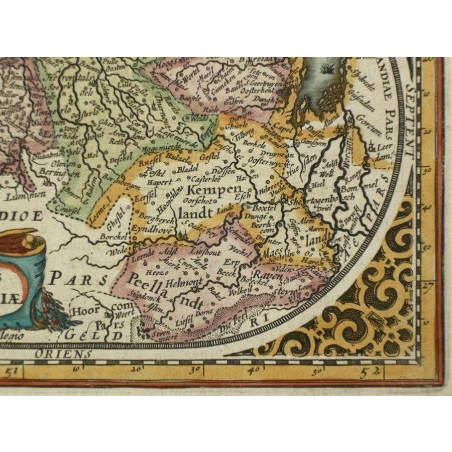 Gouldmaps Verkocht; Brabant; J. Janssonius / A.Goos - Ducatus Brabantiae - 1630