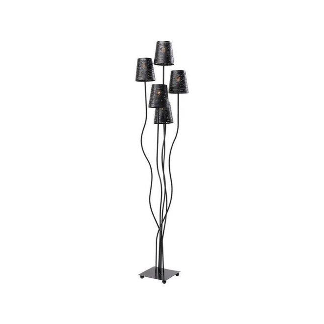 Floor Lamp Flexible Black Cinque