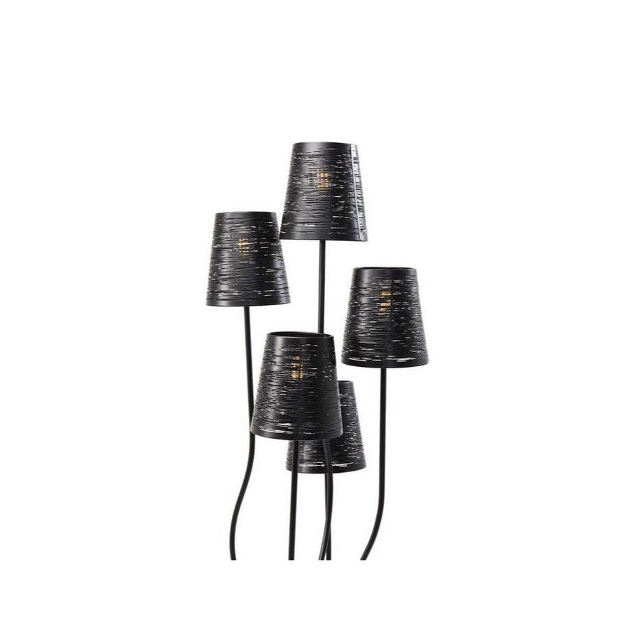 Kare Floor Lamp Flexible Black Cinque