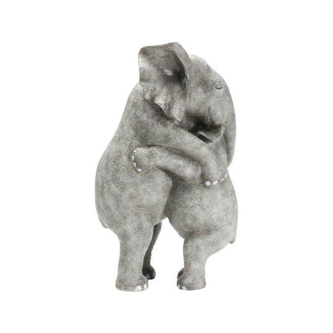 Deco Figurine Elephant Hug