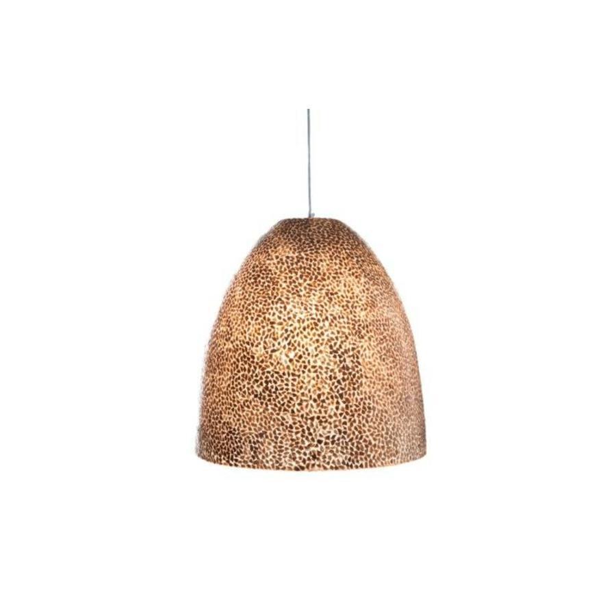 Wangi Gold - hanglamp - Hangende Conus - M