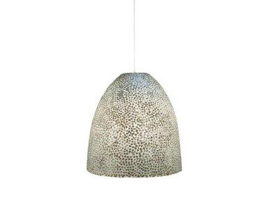 Villaflor Schelpenlamp - Wangi White - Hangende Conus - M