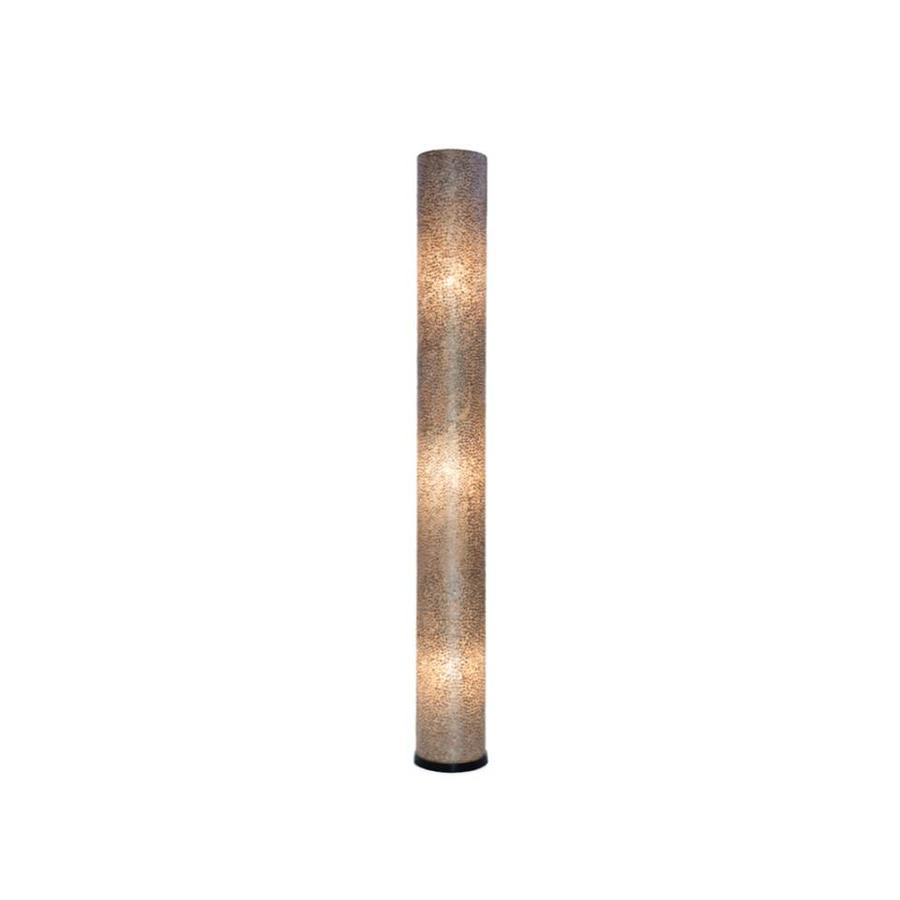 Schelpenlamp Villaflor Wangi Gold Cilinder 200 cm